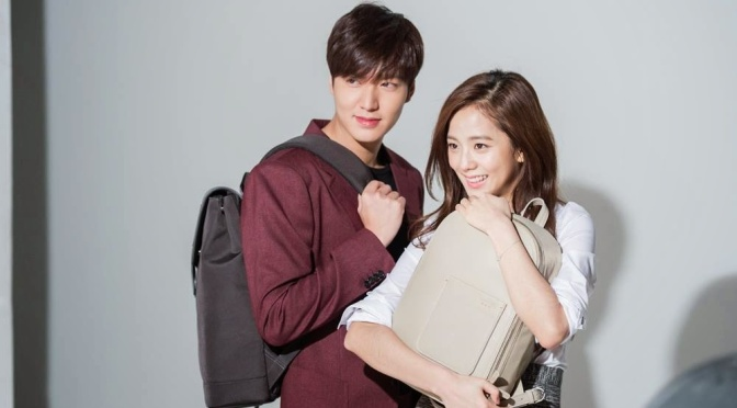 [ENDORSEMENT] 150330 BTS: Kim Jisoo and Lee Minho for Samsonite Red S/S Photoshoot