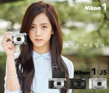 [ENDORSEMENT] Kim Jisoo for Nikon 1 J5