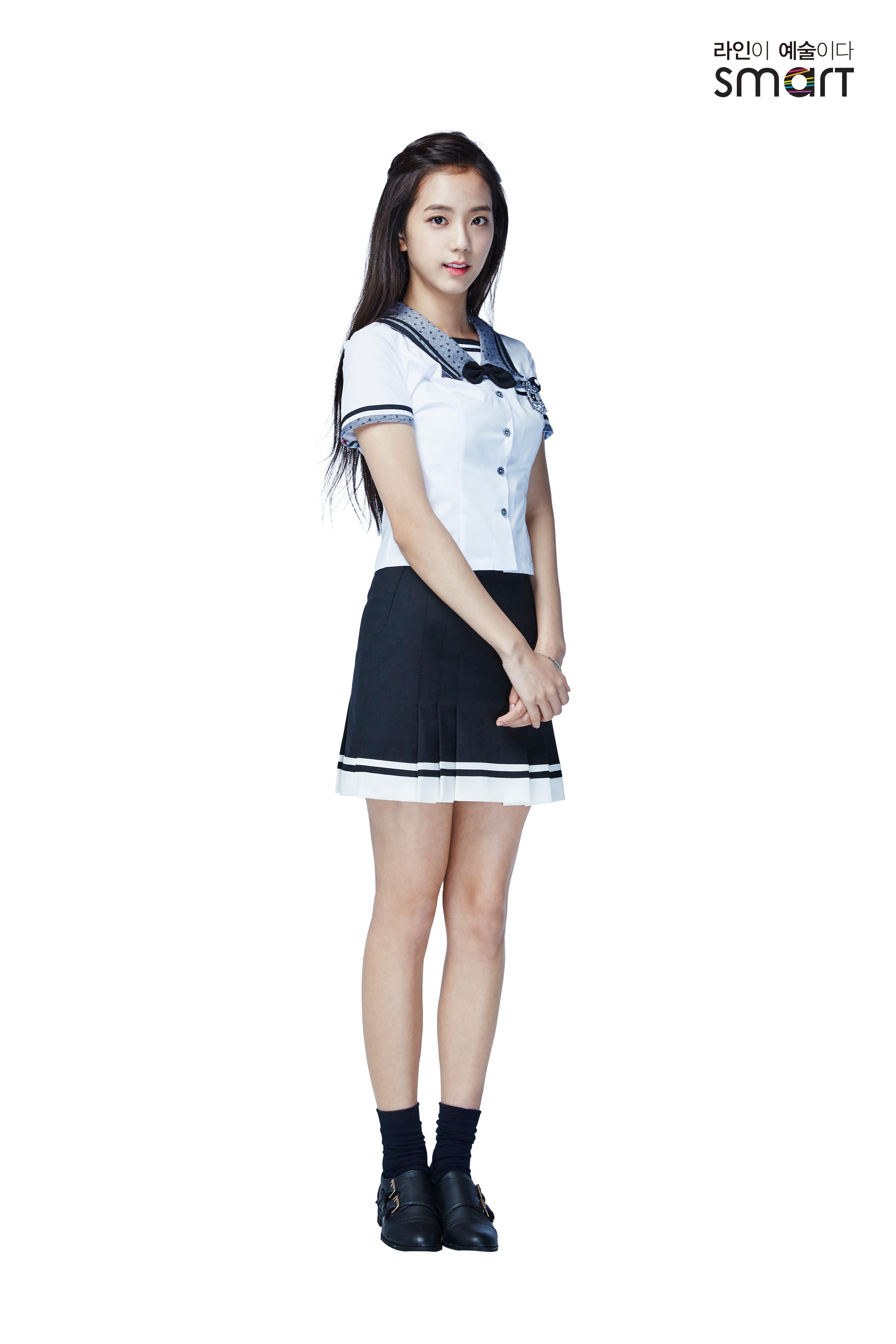 [ENDORSEMENT] 160504 HQ Photos of Jisoo with iKON for 2016S Smart Uniform u2013 YGDreamers