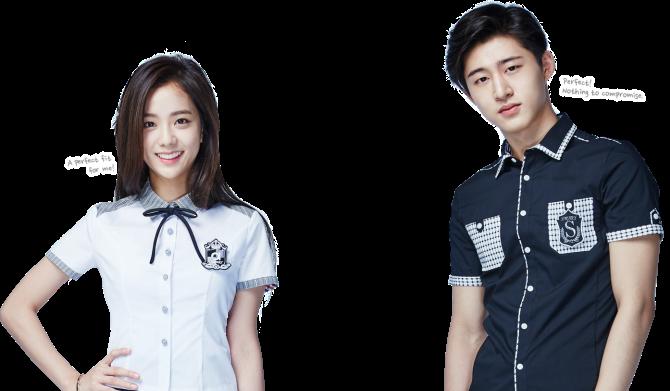 [ENDORSEMENT] 160504 HQ Photos of Jisoo with iKON for 2016S Smart Uniform