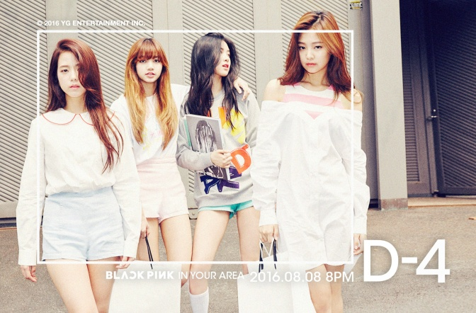 [YG-LIFE] 160804 Exclusive: BLACKPINK Announced to Debut with Two Singles on August 8