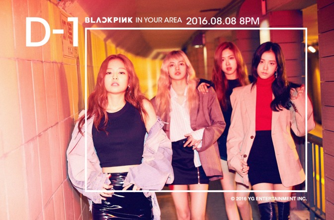 [OFFICIAL] 160807 BLACKPINK IN YOUR AREA D-1