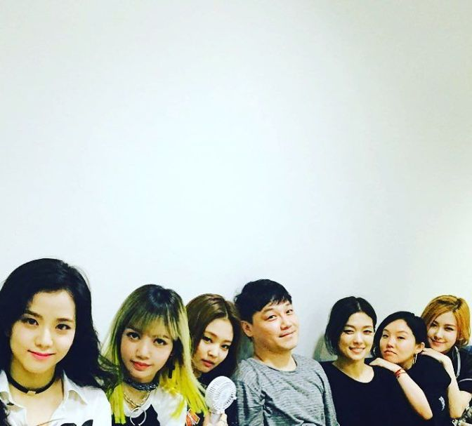 [INSTAGRAM] 160814 G-Dragon and More from YG Family Supports/Promotes BLACKPINK