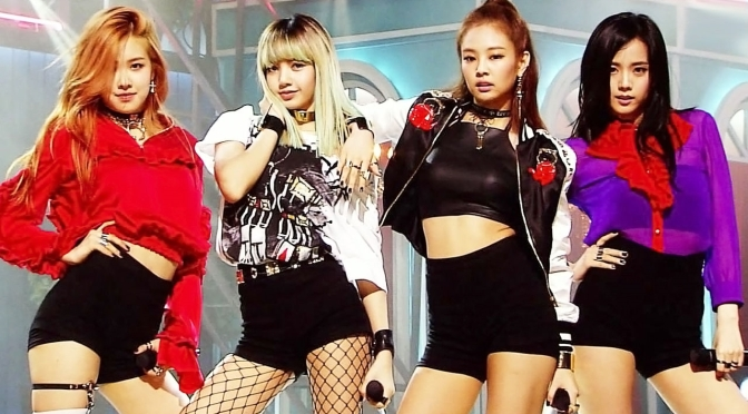 [OFFICIAL] 160814 BLACKPINK – '휘파람' (WHISTLE) on SBS Inkigayo (Debut Stage)