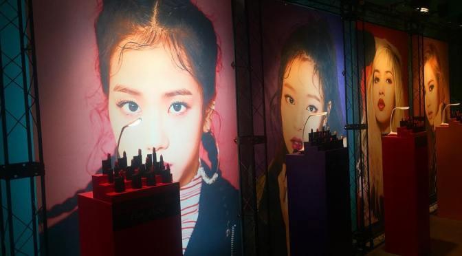 [INSTAGRAM] 160829 BLACKPINK for Moonshot Lip Feat. Lipstick