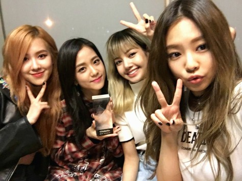 160829 BLACKPINK MelOn Popularity Award