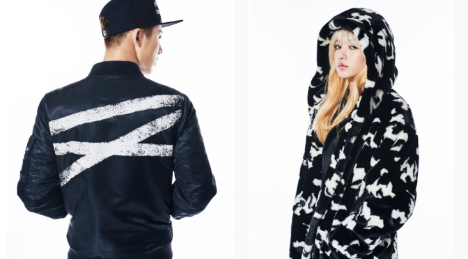 [ENDORSEMENT] 160823 Lisa With iKON's B.I and Bobby for NONAGON 2016 Fall/Winter Collection