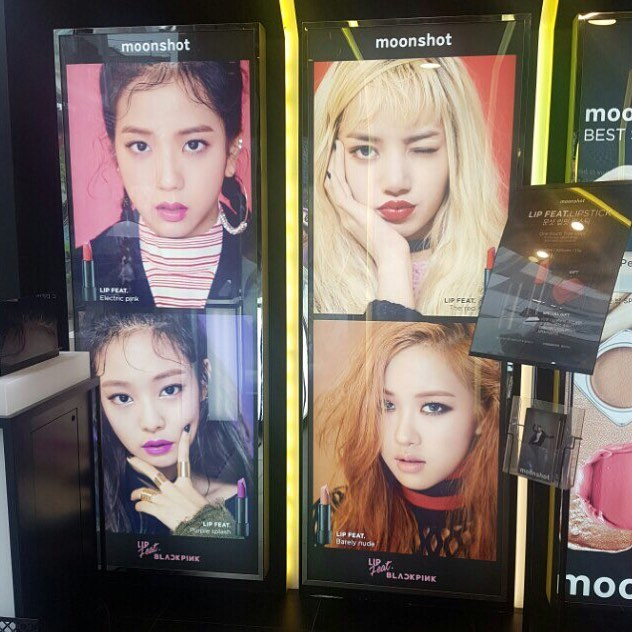 [INSTAGRAM] YG moonshot's Park Dong Min Shares Photos of BLACKPINK's LIP FEAT. Posters in Stores