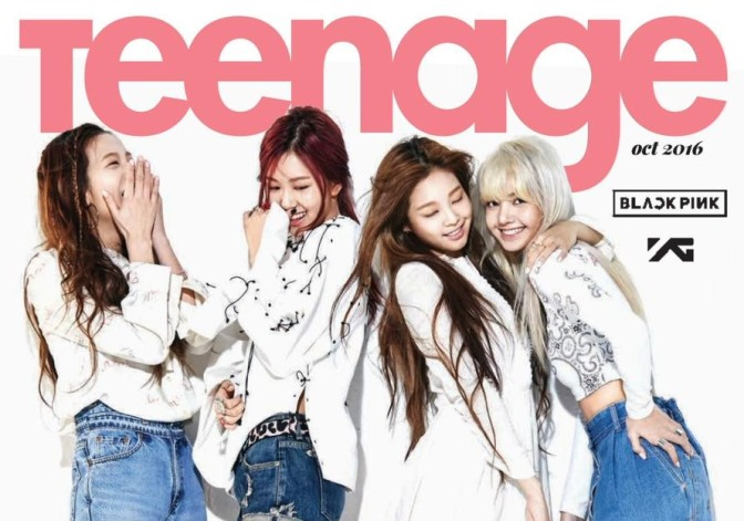 PREVIEW/SCAN] BLACKPINK on Singapore's Teenage Magazine October ...