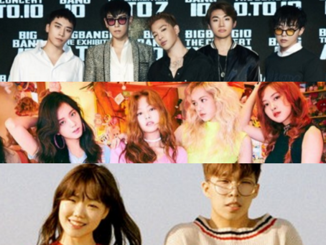 [NEWS] 161008 BIGBANG, BLACKPINK, And Akdong Musician Reportedly Making Comebacks In November