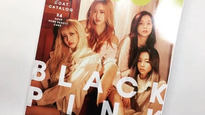 """[INSTAGRAM] 161024 moonshot_korea's Update: """"BLACKPINK on the cover of November issue of NYLON Korea!"""""""