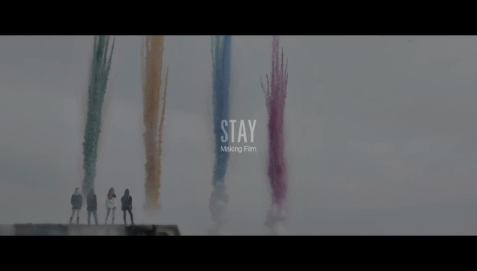 """[YG-LIFE] 161030 With Two Days to go Until its Comeback, BLACKPINK Reveals the Behind-the-scenes Video of its """"STAY"""" MV"""