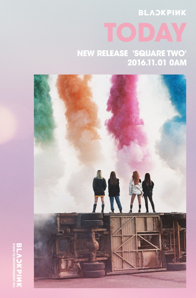 [SNS] 161031 BLACKPINK and YGE Official Accounts Update About D-1 Teaser