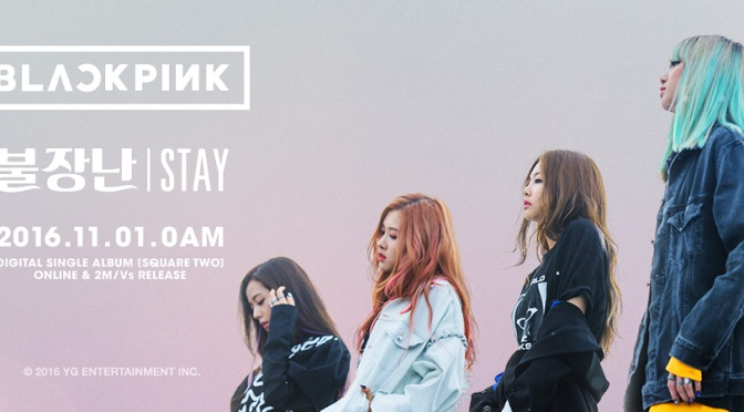 [OFFICIAL] 161101 New Header Photos of BLACKPINK on Official Accounts/Pages