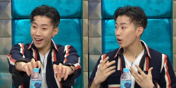 "[NEWS] 161102 Jay Park Shows BLACKPINK And Apink Some Love On ""Radio Star"""