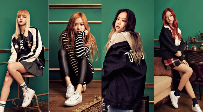 [ENDORSEMENT] 161111 Club C Exclusive: BLACKPINK X REEBOK CLASSIC