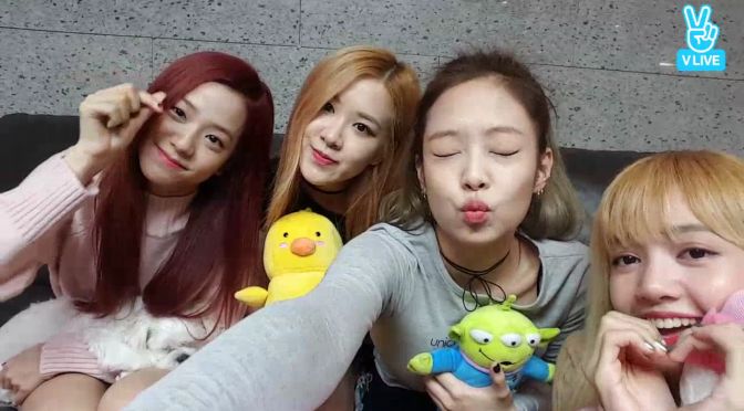 Vlive 161112 blackpink at dorm with eng subs ygdreamers ygdreamers stopboris Image collections