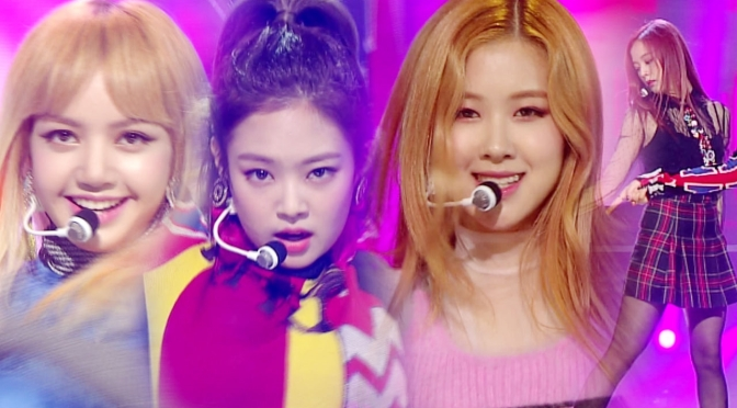 [PERF] 161113 BLACKPINK – '불장난' (Playing With Fire) On SBS Inkigayo