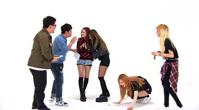 "[YG-LIFE] 161115 BLACKPINK Makes Their First Variety Show Appearance On ""Weekly Idol""… YG's jewel box is opened"