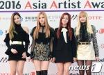 블랙핑크가 16일 오후 서울 경희대학교 평화의전당에서 열린 '2016 아시아 아티스트 어워즈(Asia Artist Awards / 이하 AAA)' 시상식에 참석해 포즈를 취하고 있다.
