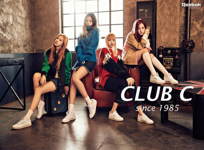 [ENDORSEMENT] 161118 Club C Exclusive: BLACKPINK for REEBOK CLASSIC CF
