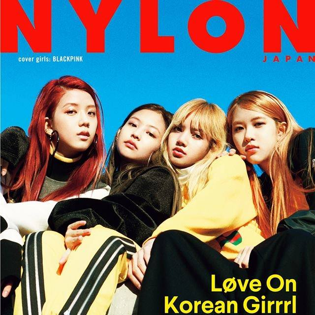 [MAGAZINE] 161128 BLACKPINK for NYLON JAPAN January 2017 Issue {SCANS & SNS Updates}