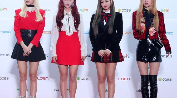 [PRESS PHOTOS] 161119 BLACKPINK at MelOn Music Awards 2016