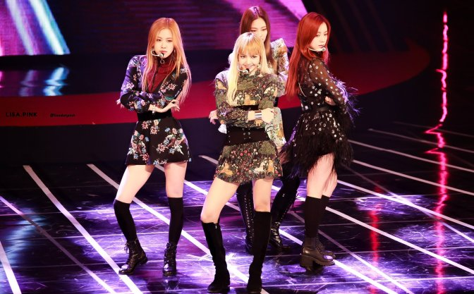 [HQ FANTAKEN] 161116 BLACKPINK at Asia Artist Awards 2016