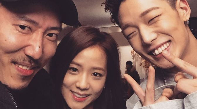 [INSTAGRAM] 160310 LG CF Director Misaki Cho Shares a Photo With Jisoo and iKON's Bobby