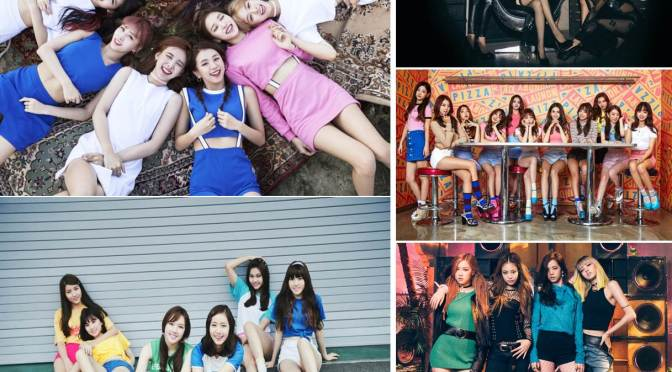 [INFO] 161215 Gaon's 2016 Girl Group Review {Digital & Album Sales Ranking}