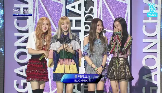 [EVENT] 161222 BLACKPINK at the 6th Gaon Chart Music Awards {RAW CUTS}