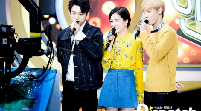 "[NAVER STARCAST] 170317 ""JinJiDo is the truth""… The glowing siblings of 'Inkigayo'"