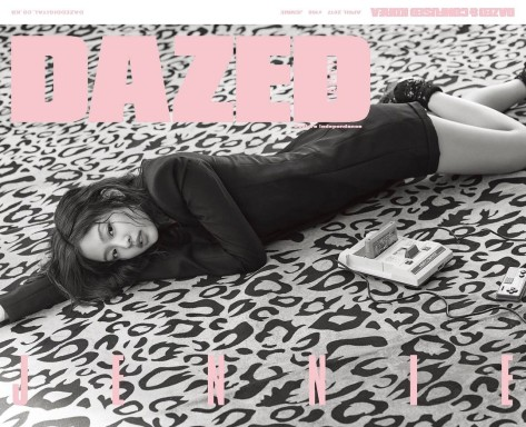 170319 dazedkorea april cover girl jennie