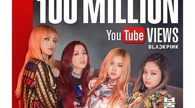 """[YG-LIFE] 170411 BLACKPINK's """"PLAYING WITH FIRE"""" MV Posts 100 million Views in Addition to """"BOOMBAYAH"""""""