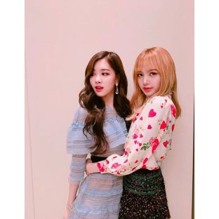 170428 blackpinkofficial 1 besties chaelisa