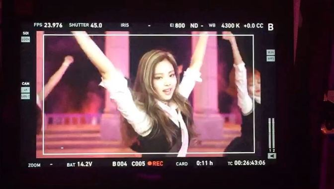 [YG-LIFE] 170605 Picture of BLACKPINK's Music Video Shooting Revealed