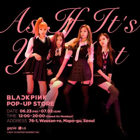 170622 BLACKPINK POP-UP STORE 1