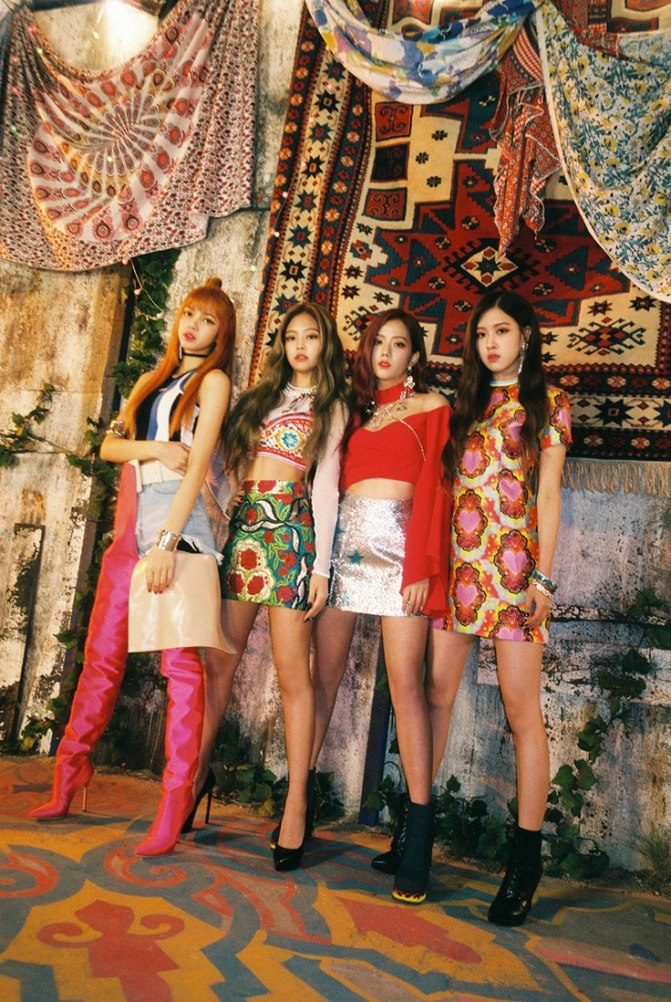 [NEWS] 170708 BLACKPINK Places 4th Among Girl Groups on July 2017 Brand Reputation Rankings