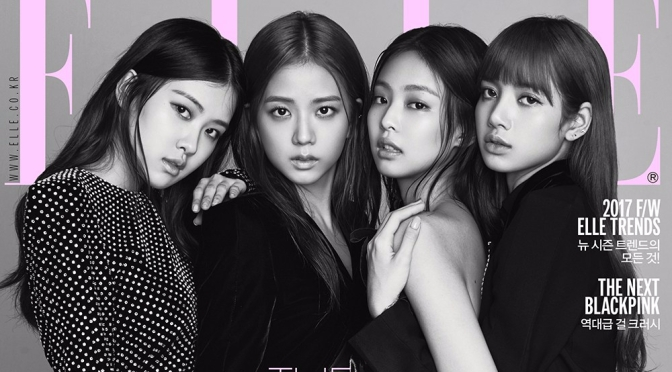 [MAGAZINE] BLACKPINK on ELLE Korea August 2017 Issue