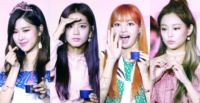 [OFFICIAL] 170701 BLACKPINK – ICE CREAM EVENT DAY
