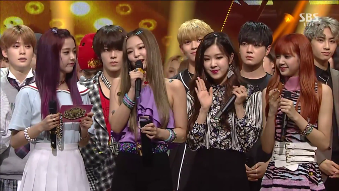 [SHOW] 170709 BLACKPINK – '마지막처럼' (AS IF IT'S YOUR LAST) + WIN on SBS Inkigayo + MC Jisoo Cuts