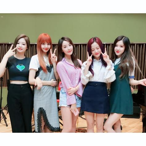170710 ymfmdate with blackpink