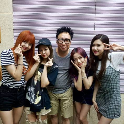170711 dj_gpark with blackpink
