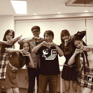170720 fromyg 2 blackpink japan debut showcase backstage with blackpink matsuura
