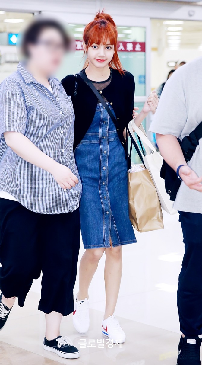 170721 Gimpo Airport Lisa 7 Ygdreamers