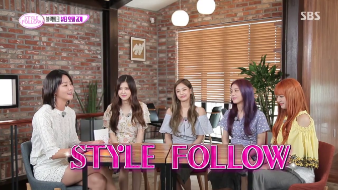 [SHOW] 170720 BLACKPINK on SBS 'Style Follow'