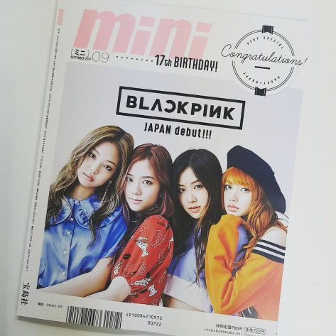 170731 mini_twjp blackpink on mini japan cover