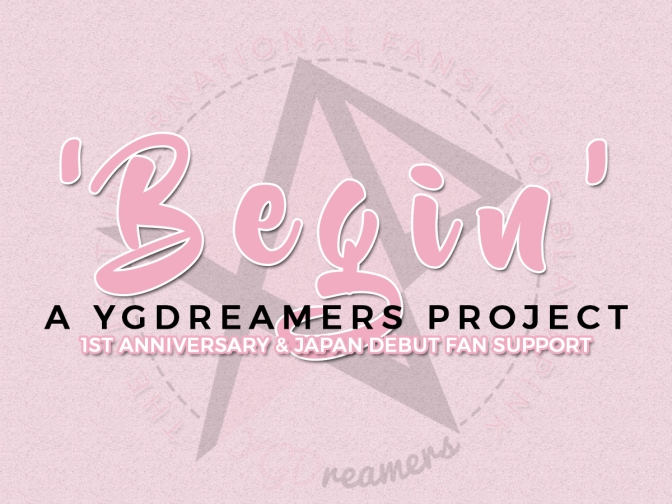 [ADMIN] BEGIN: YGDreamers' BLACKPINK 1st Anniversary & Japan Debut Fan Support