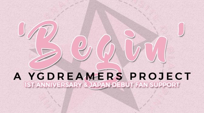 [ADMIN] BEGIN: YGDreamers' BLACKPINK 1st Anniversary & Japan Debut Fan Support