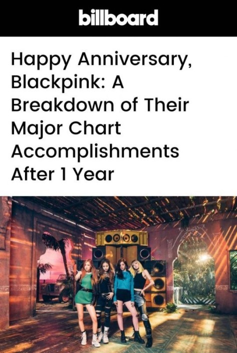 170812 billboard blackpink anniversary